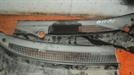 панель воздухозаборника; пластиковая накладка под дворники (2-е части) для автомобиля Kia Rio
