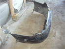 Бампер задний для автомобиля Hyundai Lantra J2