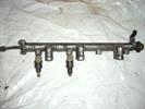 топливная рампа, рейка в сборе с форсунками для автомобиля Hyundai Sonata 2