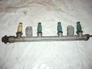 топливная рампа, рейка в сборе с форсунками для автомобиля Hyundai Sonata 5