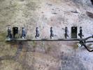 Топливная рампа с форсунками для автомобиля Chevrolet Evanda