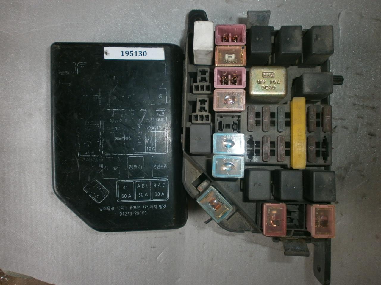схема предохранителей hyundai elantra j2